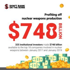Don't Bank on the Bomb   Shorting our security- Financing